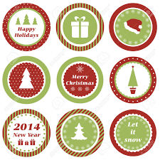 Cupcake Decorations For New Years by Cupcake Toppers For Christmas And New Year Royalty Free Cliparts