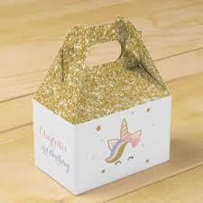 Favor Boxes by Unicorn Favor Boxes Zazzle
