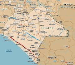 Chiapas Mexico Map Mexico U0027s Other Border Security Migration And The Humanitarian