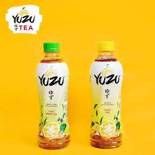 Teh Yuzu yuzu indonesia yuzu tea minuman teh dengan kesegaran ekstrak buah