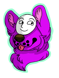 purple mask purple dog with a mask by monsuirahab on deviantart