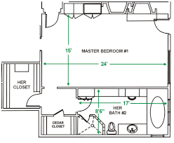 Master Bathroom Floor Plan by Master Bedroom Plans With Bath And Walk In Closet