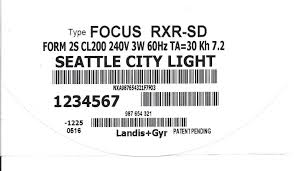 seattle city light login seattle city light advanced metering opt out policy