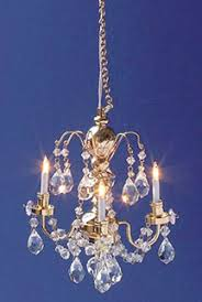 Miniature Chandelier Renaissance 3 Up Arm Crystal Chandelier Cir Kit 159 50