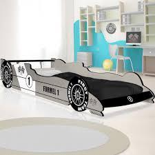 chambre enfant formule 1 lit enfant voiture formule 1 gris 90 cm x 200 cm sommier
