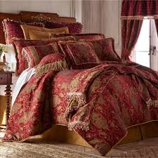 Chinese Bedroom Set China Art Ruby Red Asian Inspired Comforter Bedding