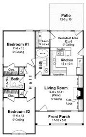 Two Bedroom Cabin Plans I Would Turn Bedroom Into An Office Library Study Media Room And