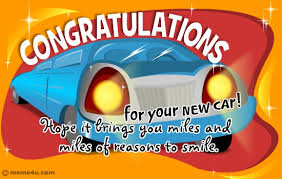 congrats on your new card congratulation card for new car congratulation ecard for car