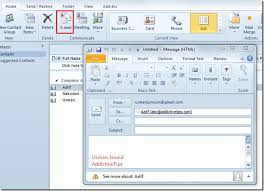 how to create an outlook address book in 2013 a user guide on outlook 2010 address book contacts