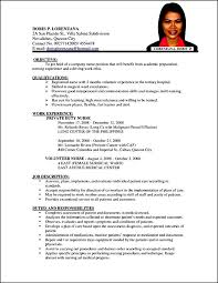 Sample Resume Format Nurses Philippines by Sample Curriculum Vitae For Nurses In The Philippines
