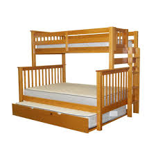 bunk beds twin over full futon bunk bed under stairs closet