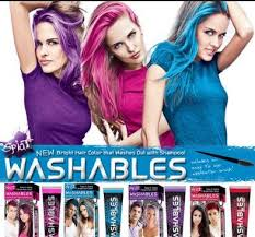 wash out hair dye u2013 best brands pink red and black washable hair