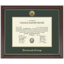 diploma framing murano diploma frame dartmouth college