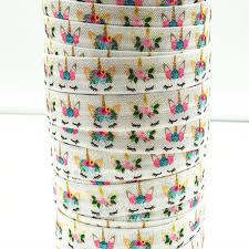 elastic ribbon wholesale q n ribbon wholesale oem 5 8inch 171107003 printed folded