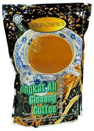 Kopi Tongkat Ali Ginseng Coffee gold choice instant tongkat ali ginseng coffee 20 packets per