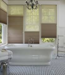 maximize bathroom privacy with these window treatments made in