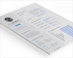 Resume Templates For Indesign Redoubtable Indesign Resume Templates 10 20 Beautiful Free For