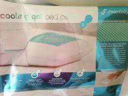gel bed pillows most perfect gel infused memory foam pillow that dreamfinity cooling