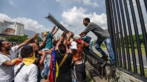 venezuela hit by more violent anti government protests