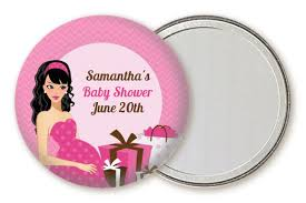 Modern Mommy Baby Shower Theme - modern mommy crib it u0027s a baby shower pocket mirror favors