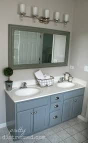 bathrooms design painted vanity weathered wood bathroom pretty