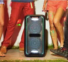 sony high powered bluetooth light up speaker gtk xb5 updated sony gtk xb5 or xb7 high powered extra bass bluetooth