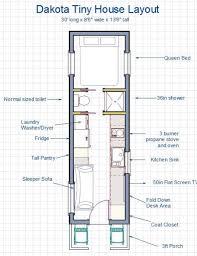 30 Ft Travel Trailer Floor Plans 255 Sq Ft Dakota Tiny House Built Like A House Works Like An Rv