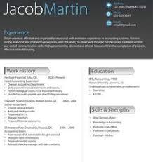 Sample Job Resumes by Sleek Resume Template 10 Trendy Resumes Beaux Cv Pinterest