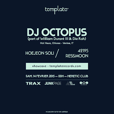 ra template showcase with dj octopus at heretic club south west