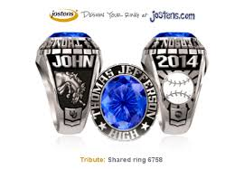 highschool class ring class rings high school jefferson high school tjhs alumni