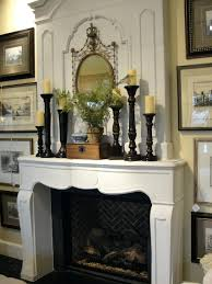 fireplace mantel decorating ideas pinterest with tv above