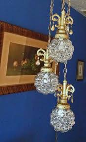 hollywood regency swag l swag lamp crystal hanging ceiling light fixture hollywood mid