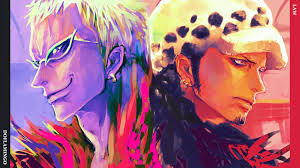 Purple Paint Law by Doflamingo And Law Vs Itachi And Nagato Battles Comic Vine