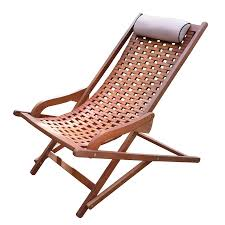 Patio Folding Chair by Shop Outdoor Interiors Brown Umber Stain Eucalyptus Folding Patio