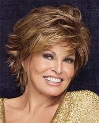 razor haircuts for women over 50 layered razor cut with bangs short haircut for women over 40