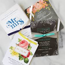 14 awe inspiring ribbon wedding invitations with great color