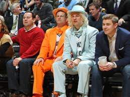 dumb and dumber costumes dumb dumber costumes add new style to target center s courtside