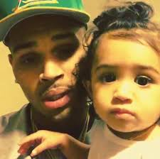 chris brown gets at his child s saying this photo of