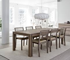 Wharfside Long Dining Table AI Danish Wood Dining Furniture - Long dining room table