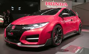 honda civic type r us honda civic type r concept blows turbocharged raspberry at usa