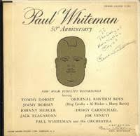 50th anniversary photo album whiteman 50th anniversary album g a 33 901 lps signed by paul