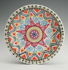 celebration plates painted mandala plate mandalas and celebrations