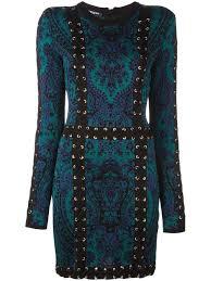 pierre balmain biker jeans sale dark green blue and black baroque