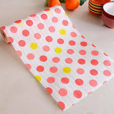 Kitchen Cabinet Drawer Liners by 3m Cute Polka Dots Shelf Contact Paper Kitchen Table Cabinet