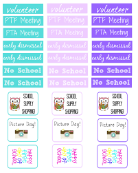free printable back to planner stickers delicate