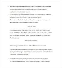resume for software developer java developer resume template u2013 14 free samples examples