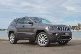 blue jeep grand cherokee jeep grand cherokee limited 2017 review carsguide