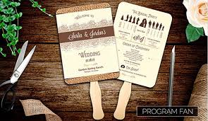 Fan Programs For Weddings 20 Elegant Wedding Program Templates