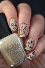 44 best egyptian nail designs images on pinterest egyptian nails