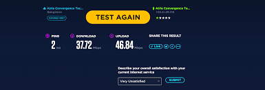 Speed Test Ookla S New Speed Test Site In Html5 Faster And Better